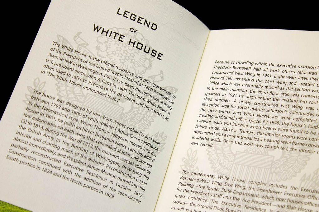 Blair House Guest Book